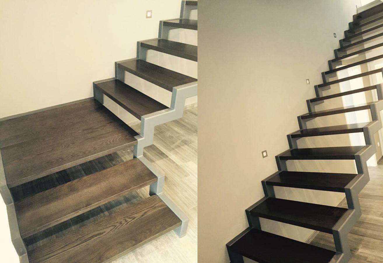 Escaleras voladas de madera cool escalera volada with for Escaleras voladas de madera