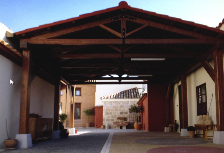 Cubierta de madera Rivas Sanchez Carpinteros