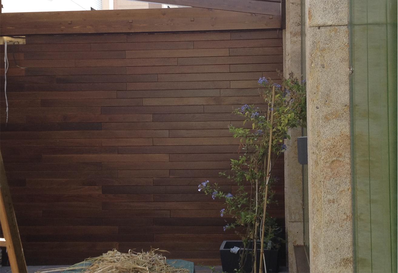 Revestimiento de madera Rivas Sanchez Carpinteros