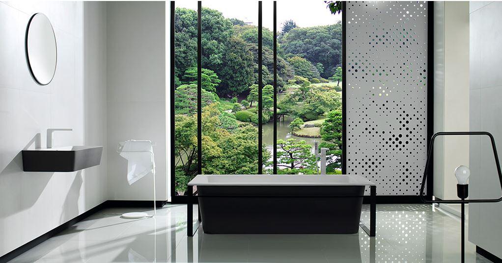 KRION® Bath: decoración de baños modernos que evocan naturaleza